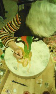 Atelier créa Nolwenn Floc'h : trouver l'image de son tambour
